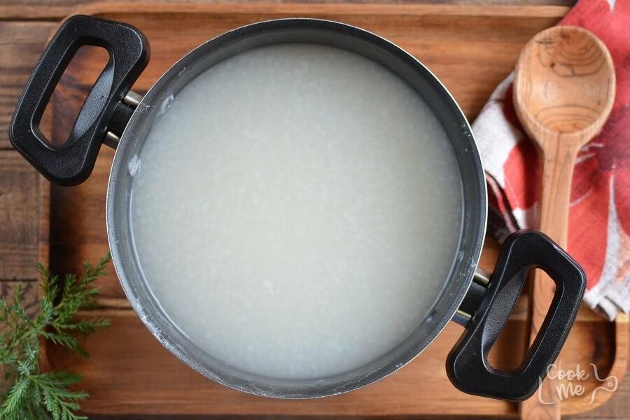 Sago Pudding (Gula Melaka) recipe - step 3