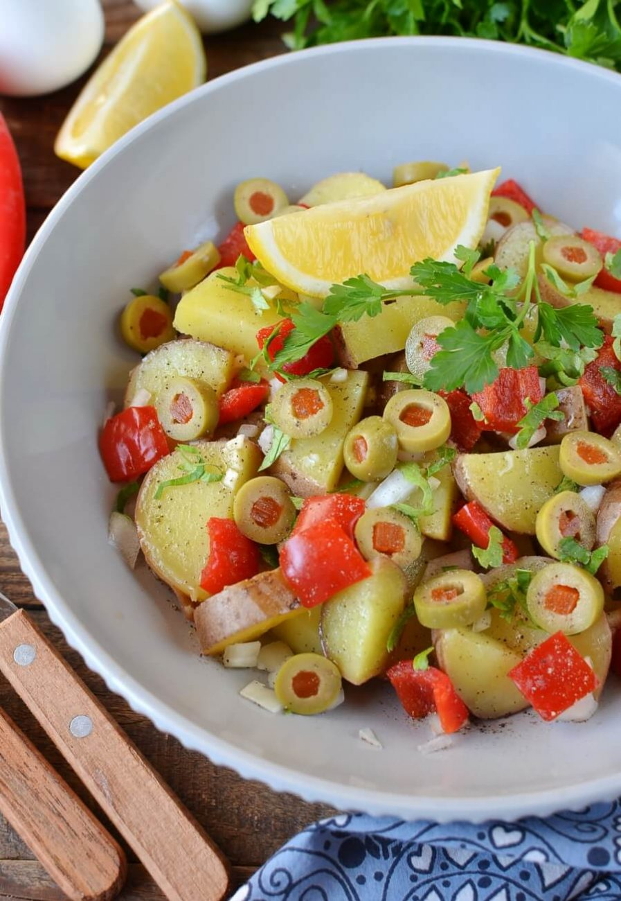 Savory Spanish Potato Salad