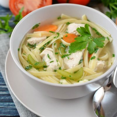 Sensational Chicken Noodle Soup-Swanson's Sensational Chicken Noodle Soup-Chicken Noodle Soup