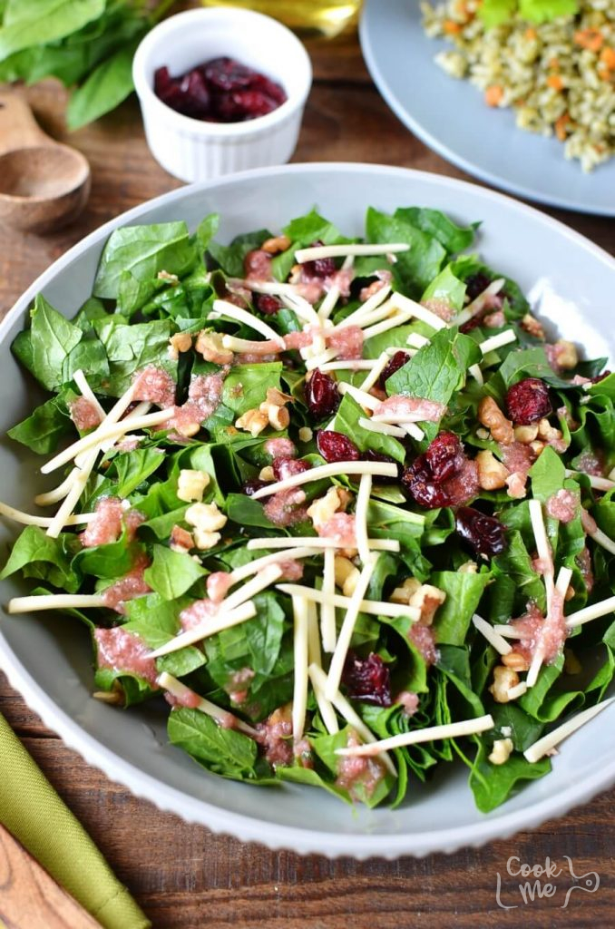 Quick and easy healthy salad