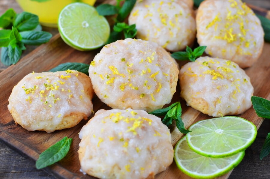 Spring Lime Tea Cookies-Spring Lime Tea Cookies Recipe-How To Make Spring Lime Tea Cookies