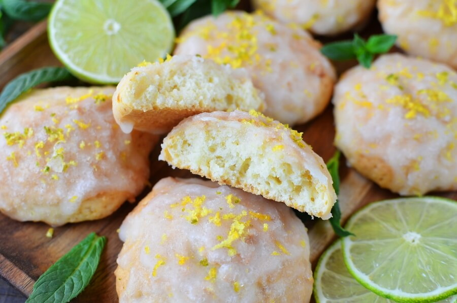 How to serve Spring Lime Tea Cookies