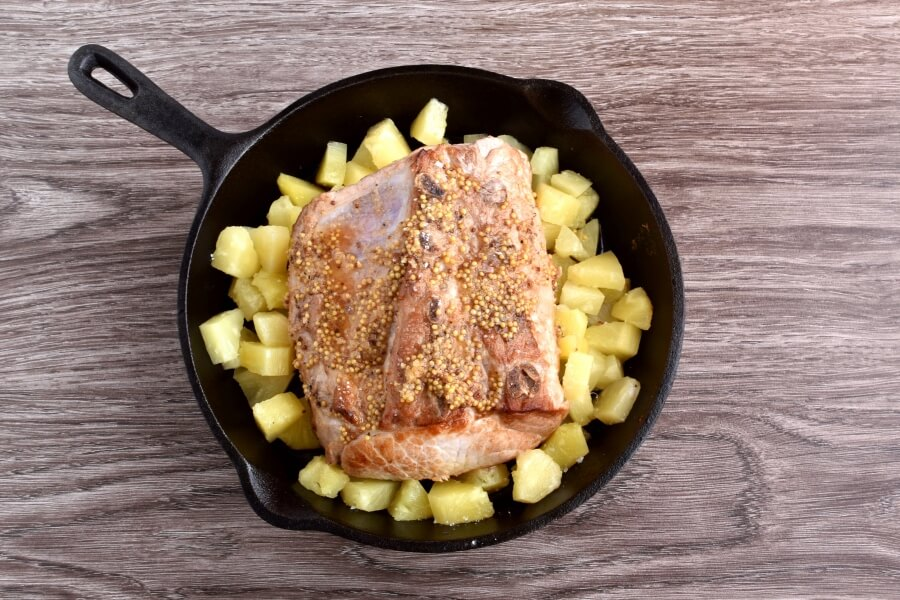 Sweet and Savory Pineapple Pork Loin recipe - step 5