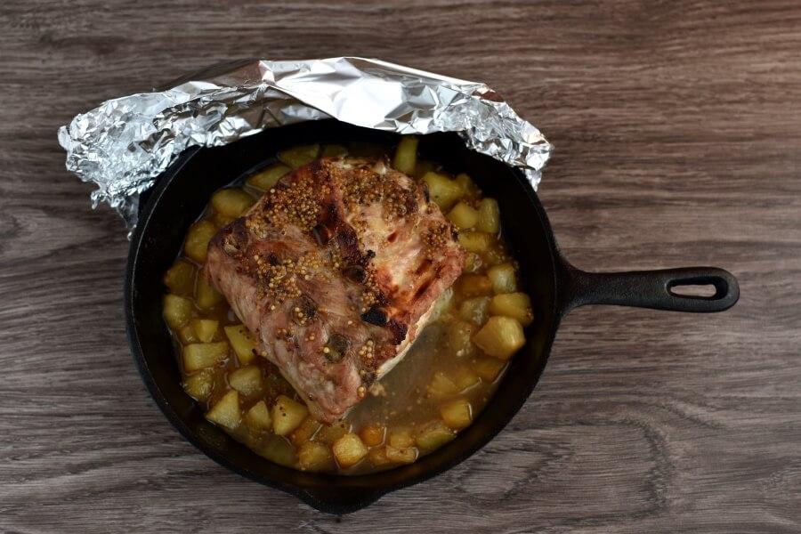 Sweet and Savory Pineapple Pork Loin recipe - step 7