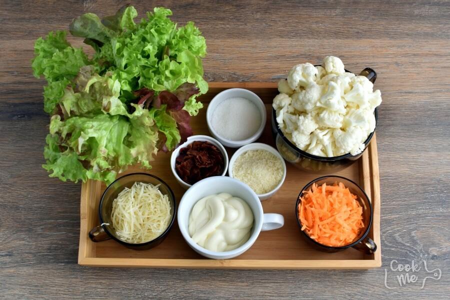 Ingridiens for That Addicting Salad