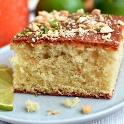 West African Lime Cake Recipe-Homemade West African Lime Cake-Delicious West African Lime Cake