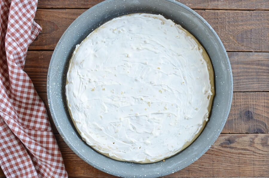 White and Gold Pizza recipe - step 8