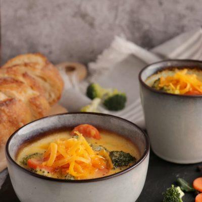 Wisconsin Cheese Soup Recipe-Delicious Wisconsin Cheese Soup-How To Make Wisconsin Cheese Soup