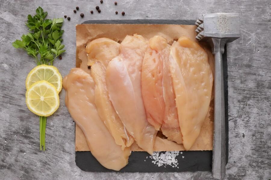 5 Ingredient Lemon Chicken with Asparagus recipe - step 1