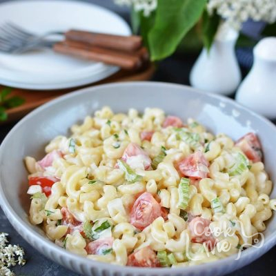 American Macaroni Salad Recipe-How To Make American Macaroni Salad-Delicious American Macaroni Salad