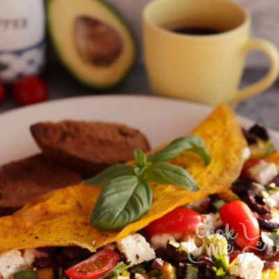 Avocado Greek Omelet Recipe-Delicious Avocado Greek Omelet-How to Make Avocado Greek Omelet
