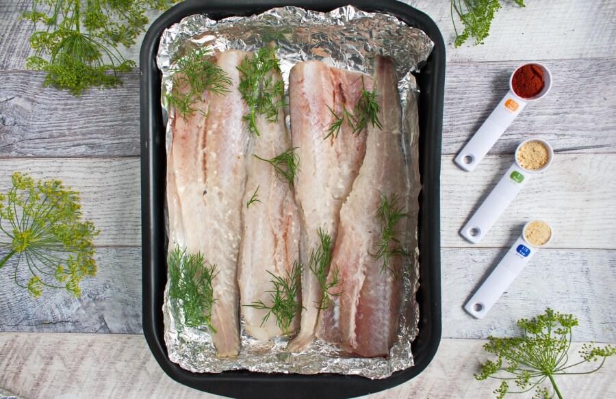 Keto Baked Whiting recipe - step 2