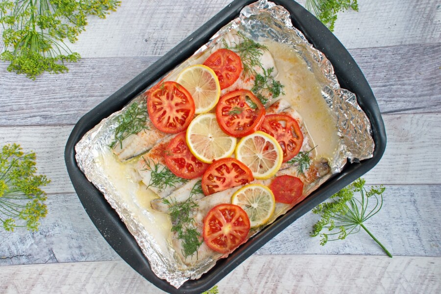 Keto Baked Whiting recipe - step 6