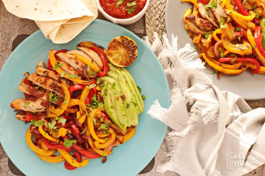 How to serve Best Chicken Fajitas