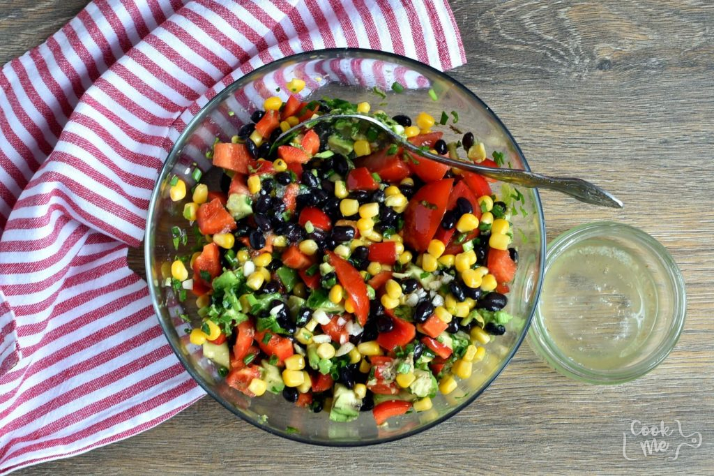 Gluten Free Black Bean and Corn Salad recipe - step 3