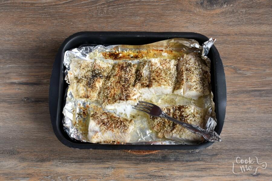Low Carb Broiled Sesame Cod recipe - step 3