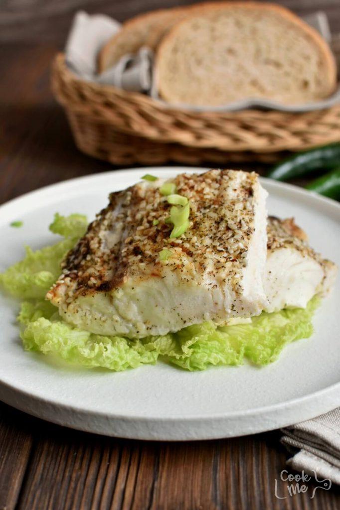 Low Carb Broiled Sesame Cod