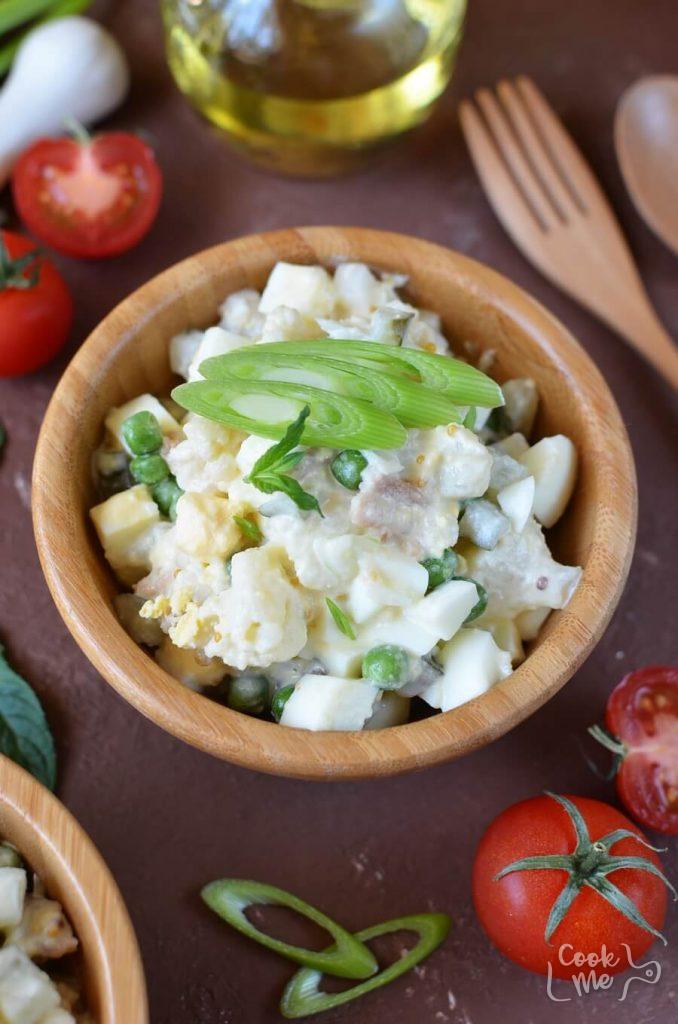 Low carb alternative to potato salad