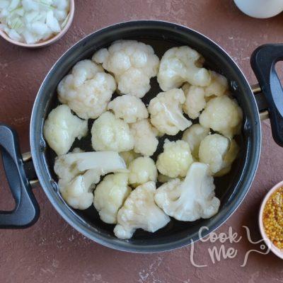 Keto Low Carb Cauliflower Salad recipe - step 1