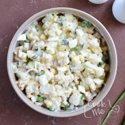 Keto Low Carb Cauliflower Salad recipe - step 3