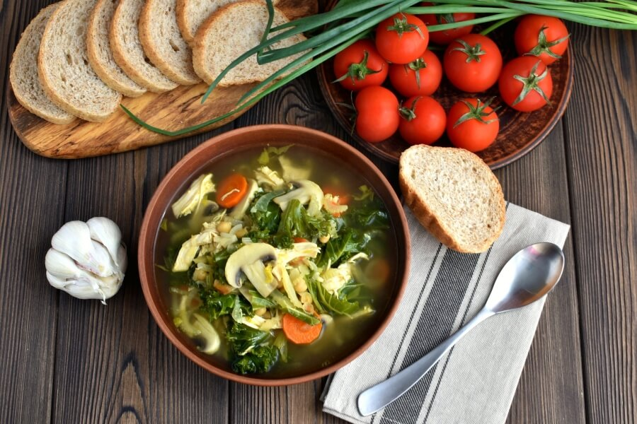How to serve Detox Immune-Boosting Chicken Soup