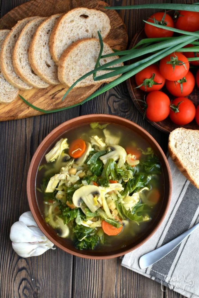 Detox Immune-Boosting Chicken Soup