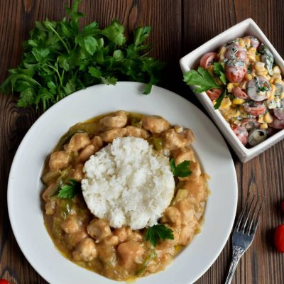 Chicken Etouffee Recipe-Homemade Chicken Etouffee-Delicious Chicken Etouffee Recipe