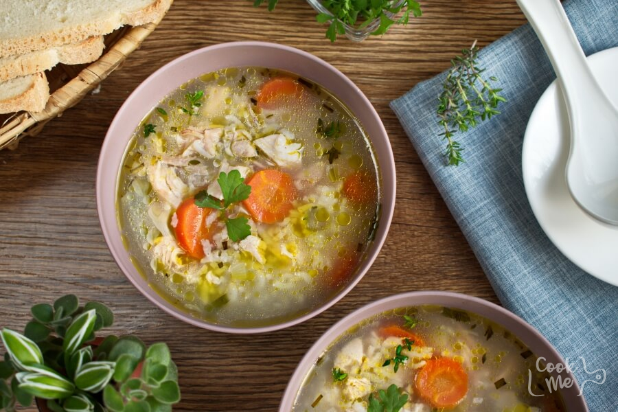 How to serve Chicken Song Soup