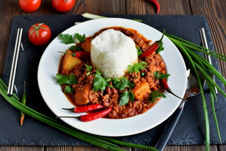 Chili III Recipe -Homemade Chili III-Delicious Chili III