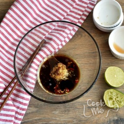 Vegan Chilled Cucumber and Wood Ear Mushroom Salad recipe - step 3