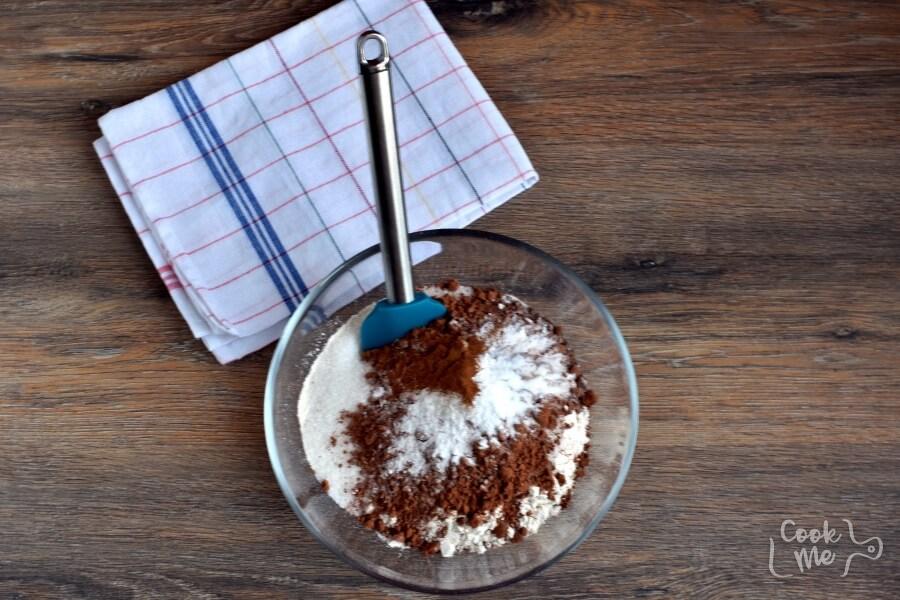Chocolate Carrot Cupcakes recipe - step 3