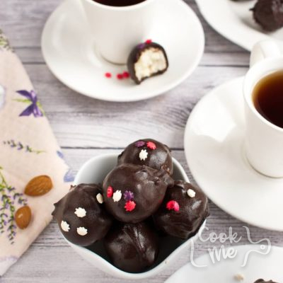 Coconut Bonbons-Homemade Coconut Bonbons-How to make Coconut Bonbons