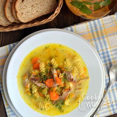 Creamy Chicken Noodle Soup Recipe-Homemade Creamy Chicken Noodle Soup-Delicious Creamy Chicken Noodle Soup Recipe