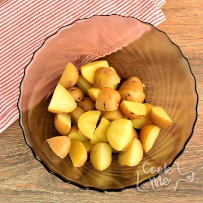 Healthy Creamy Italian Potato Salad recipe - step 1