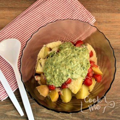 Healthy Creamy Italian Potato Salad recipe - step 4