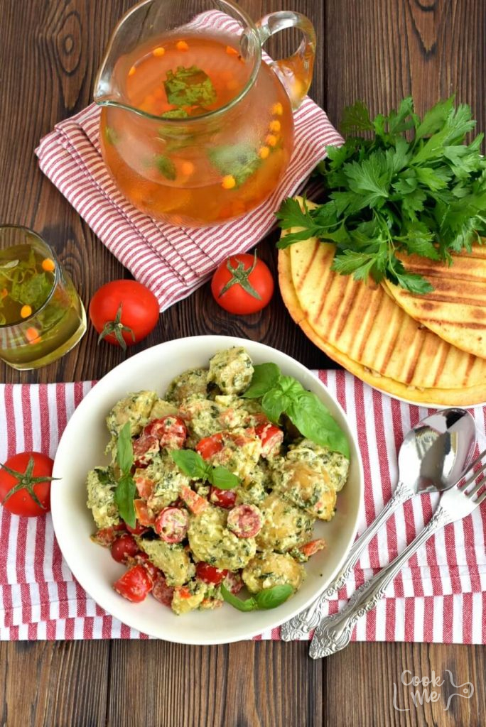The Best Italian Potato Salad