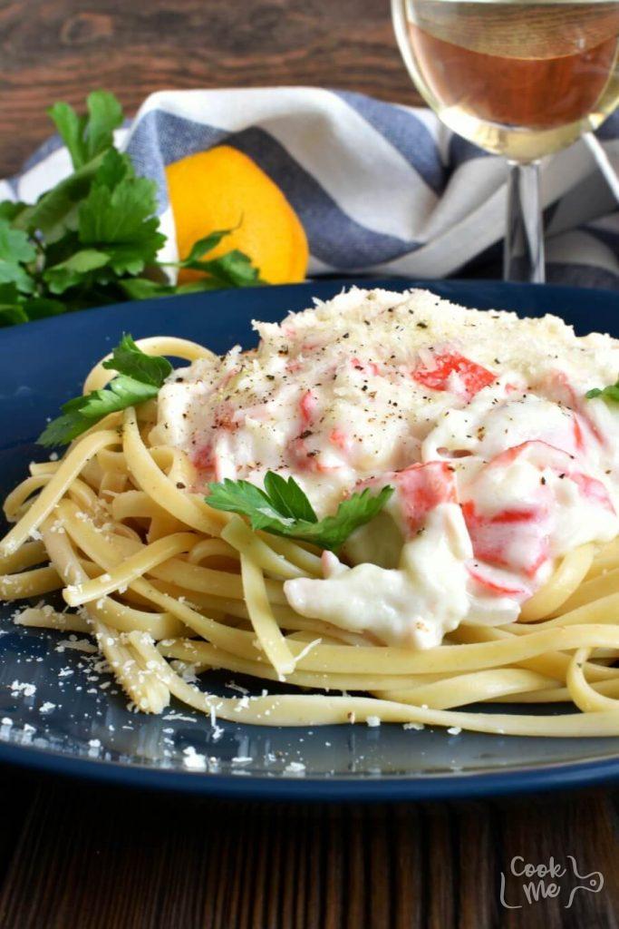 Impressive, Italian, Crab Linguine