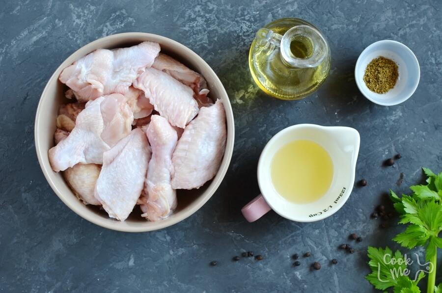 Ingridiens for Easy Keto Lemon Pepper Chicken Wings