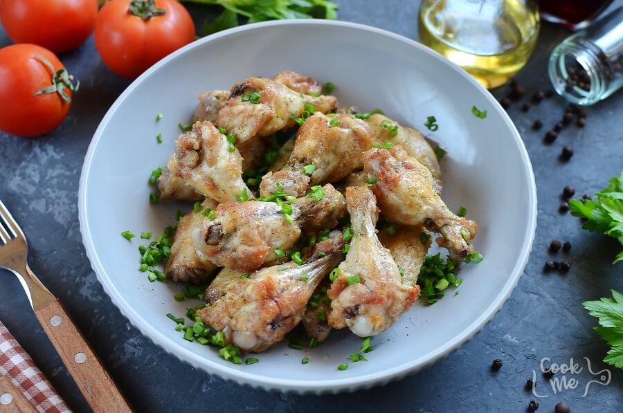 How to serve Easy Keto Lemon Pepper Chicken Wings
