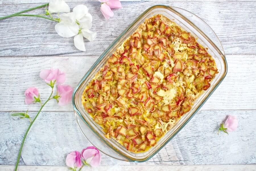 Fresh Rhubarb Torte recipe - step 6
