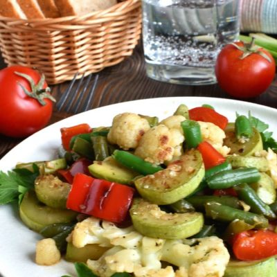 Garlic Sautéed Vegetables Recipe-Homemade Garlic Sautéed Vegetables-Delicious Garlic Sautéed Vegetables