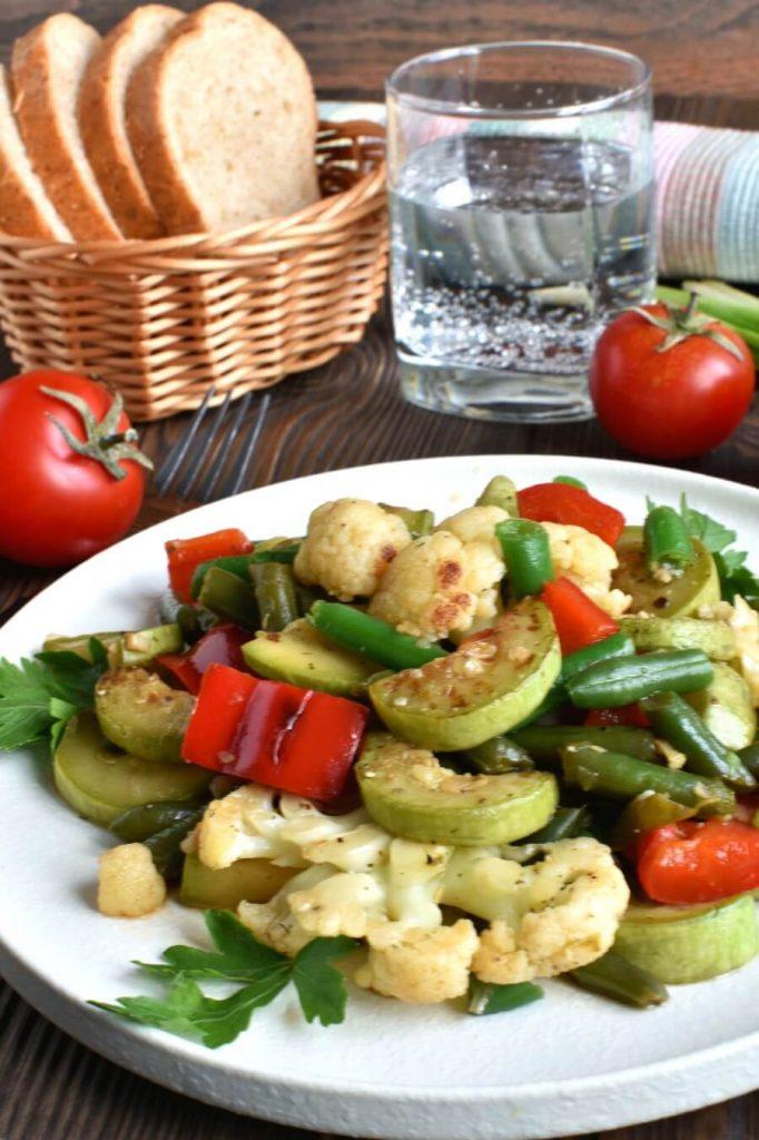 Garlic Sautéed Vegetables