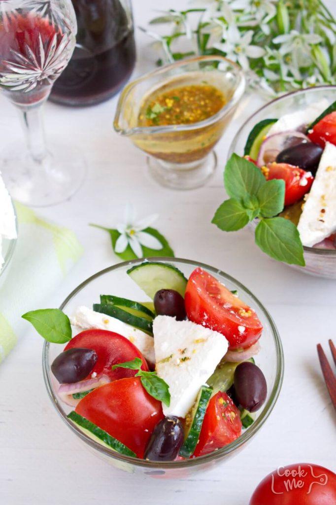 A fresh, colorful taste of the Mediterranean