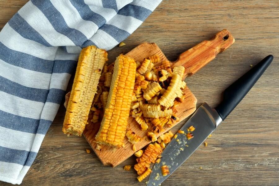 Healthy Grilled Corn Caprese Quinoa Salad recipe - step 4