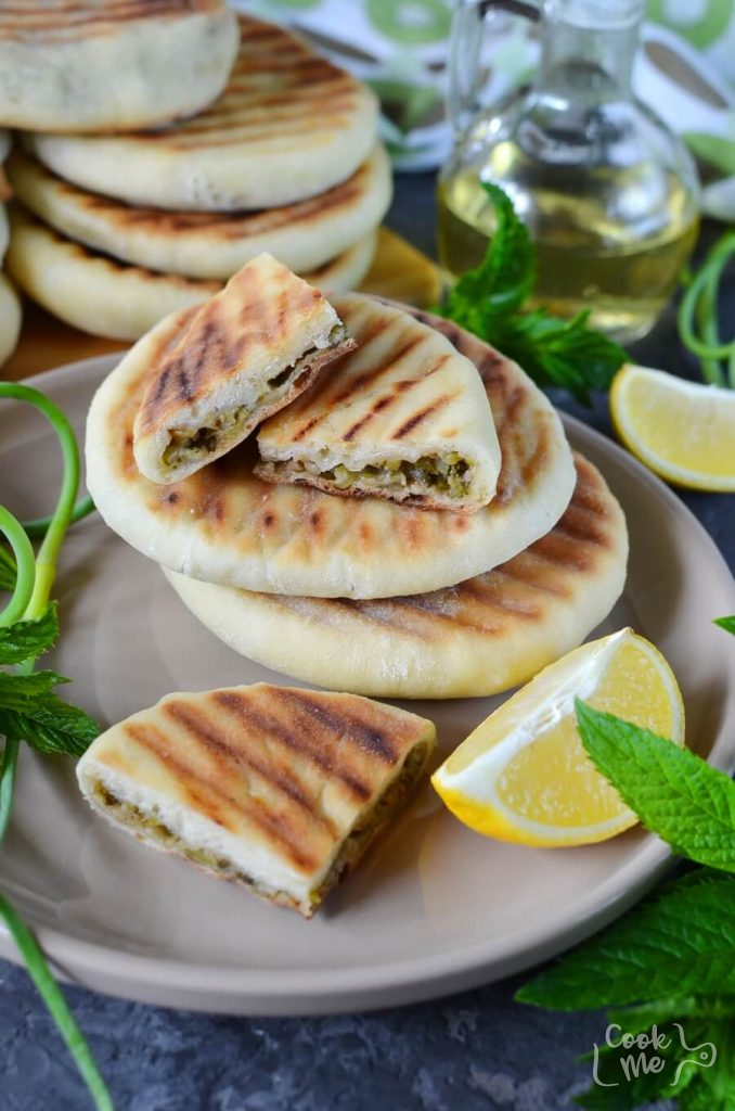 Grilled Naan Bread With Indian Garlic Scape Chutney Recipe-How To Make Grilled Naan Bread With Indian Garlic Scape Chutney-Delicious Grilled Naan Bread With Indian Garlic Scape Chutney