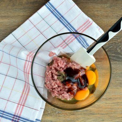 Keto Ground Pork Omelet recipe - step 1