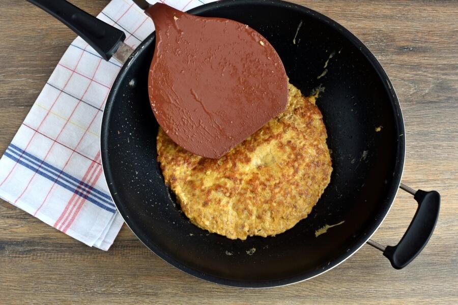 Keto Ground Pork Omelet recipe - step 3