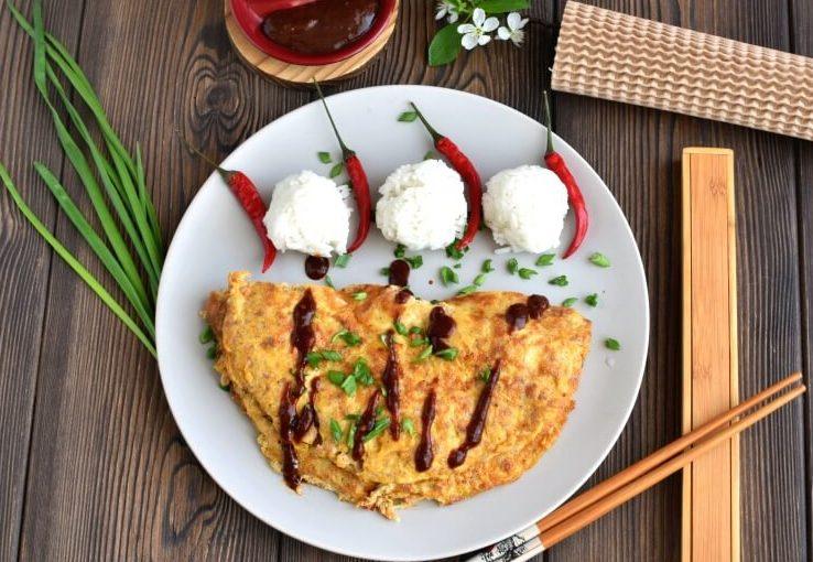 Ground Pork Omelet Recipe-Homemade Ground Pork Omelet-Delicious Ground Pork Omelet Recipe