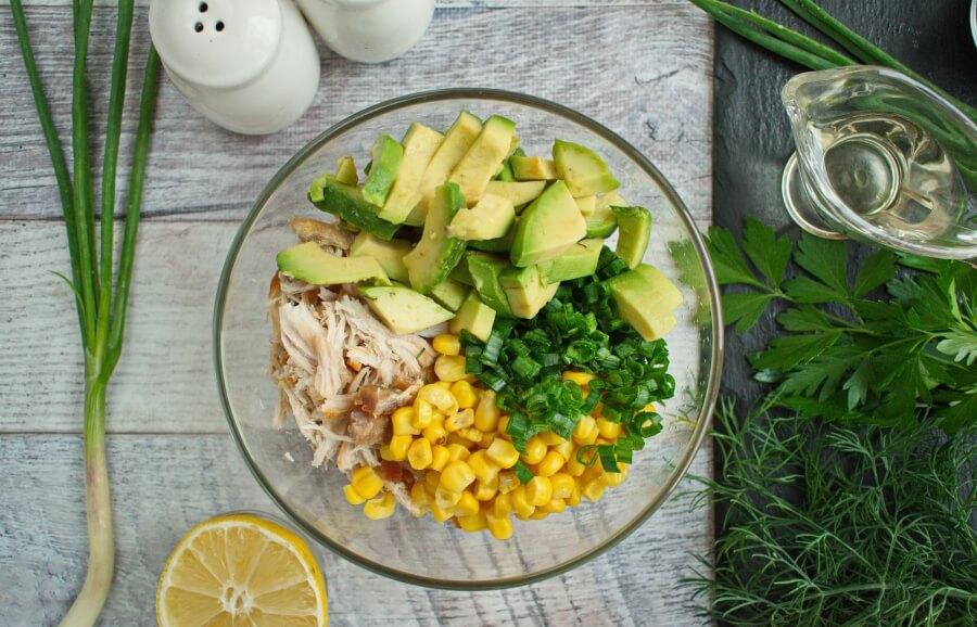 Healthy Avocado Chicken Salad recipe - step 1