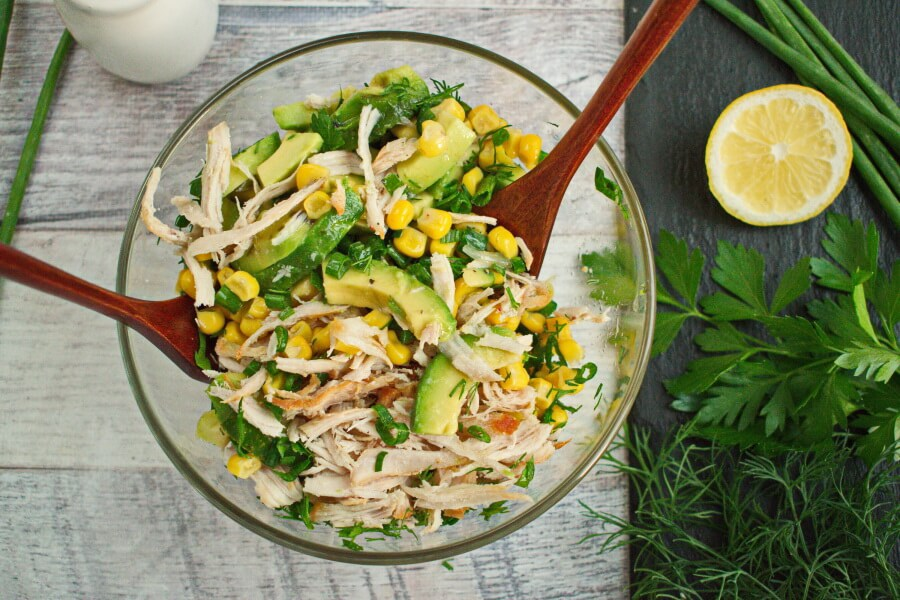 Healthy Avocado Chicken Salad recipe - step 3